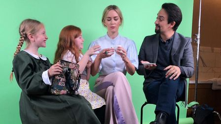 Great Yarmouth sisters Daisy and Pippa Self interview Emily Blunt and Lin-Manuel Miranda Credit: Son