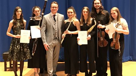 Promoted by the Michael Badminton Young Musicians Trust, the competition took place on Wednesday at