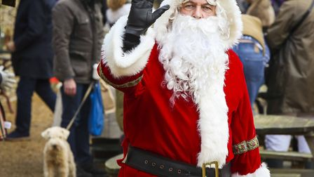 Father Christmas is coming to Creake Abbey Christmas Farmers' Market Credit: Jake Sugden