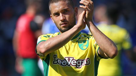 Moritz Leitner is back in Norwich City's starting line-up at Blackburn Picture: Paul Chesterton/Focu