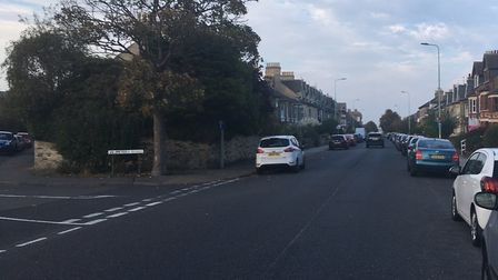 A man indecently exposed himself to children near London Road South in Lowestoft. Photo: James Carr.