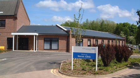 The Norvic Clinic, in Norwich, run by Norfolk and Suffolk NHS Foundation Trust (NSFT). Photo: NSFT