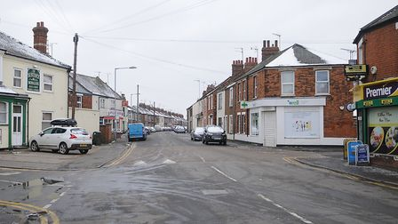 Loke Road, in King's Lynn, where the attack took place Picture: Chris Bishop