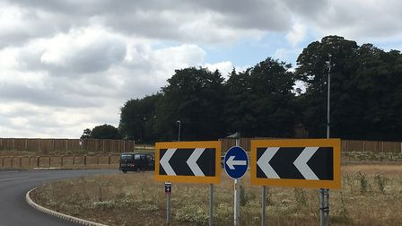 Cameras trained on Broadland Northway roundabouts at Wroxham Road. Picture: David Hannant