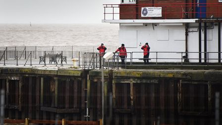 Search and rescue teams looking for missing girl Sophie Smith off Gorleston Pier this time last year
