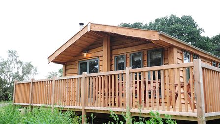 A holiday lodge at Fritton Lake. Picture: Nick Butcher