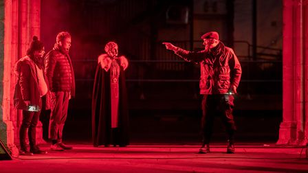 Reveal brought light shows, live performances and new technology to king'ss Lynn Picture: Matthew U