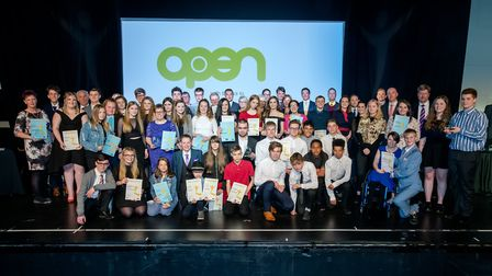 Norfolk Youth Awards 2018 at OPEN, Norwich. Photo credit Simon Finlay Photography.