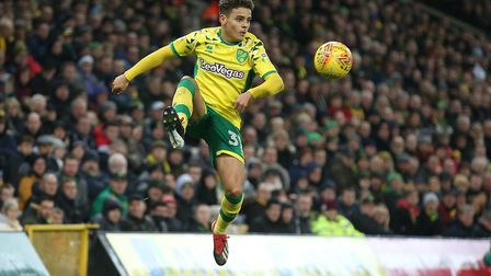 Max Aarons the brightest of the shining stars in the Norwich City collection Picture: Paul Chestert