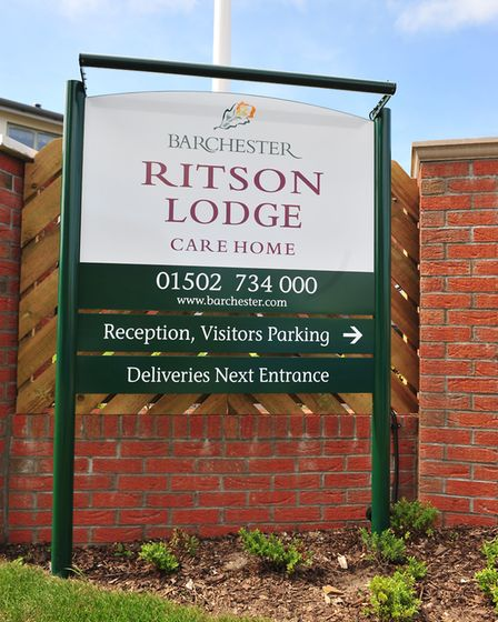 Ritson Lodge, in Hopton, which has been rated as inadequate by the CQC. Photo: Nick Butcher