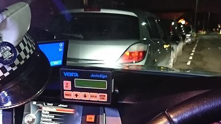 Police seized an uninsured car in Lowestoft which was being driven by a disqualified driver. Pic: No