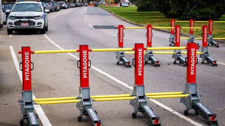 Pitagione barriers deployed in Australia Picture: Pitagone