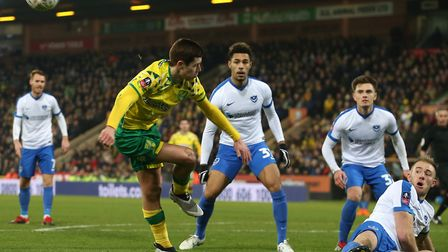 Todd Cantwell caught the eye in Norwich's FA Cup third round exit Picture: Paul Chesterton/Focus Ima