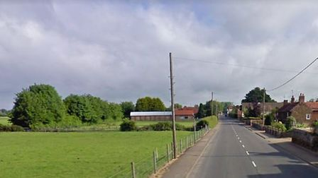 A crash has occured on Gayton Road in Grimston. PHOTO: Google Maps