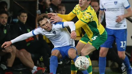 Kenny McLean made a welcome return to the Norwich City first team after an injury-hit start to his C
