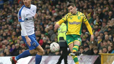 Fit-again midfielder Kenny McLean made an encouraging return for the Canaries Picture: Paul Chestert