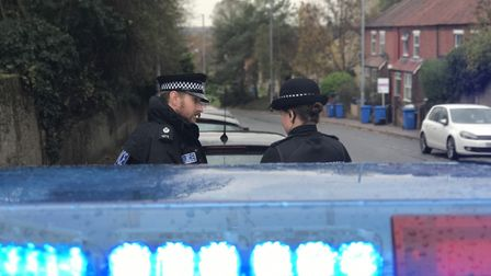 Officers from Operation Moonshot stop another driver in Norwich