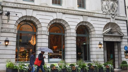 The Ivy Brasserie in the building formerly housing the Gap store in London Street. Picture: DENISE B