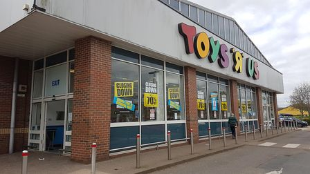 Final days of Toys R Us in Norwich. Photograph: Martin Pearce.