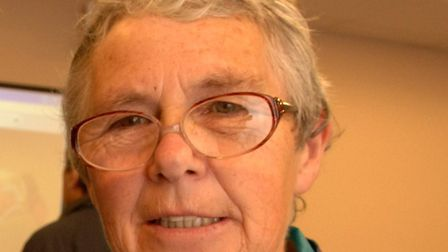 File picture of Frances Hubbard. Photo: Paul Hewitt