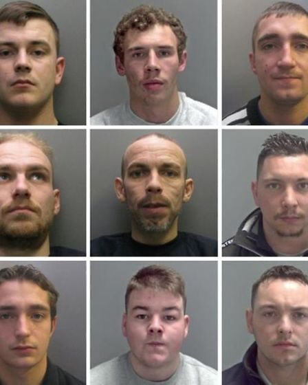 A crime gang committed burglaries across East Anglia. Picture: Cambridgeshire Police