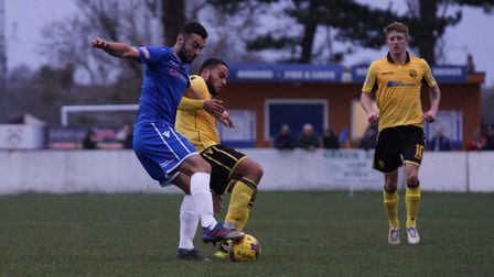 Connor Deeks was Lowestoft's match-winner against Biggleswade on Tuesday evening. Picture: Shirley D