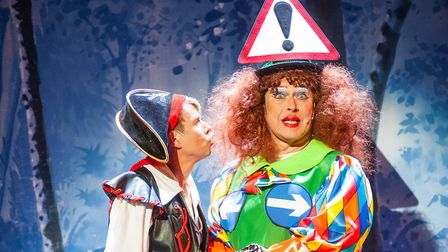 The performace carries wit and charm as well as classic pantomime tropes, infused with modern quips.