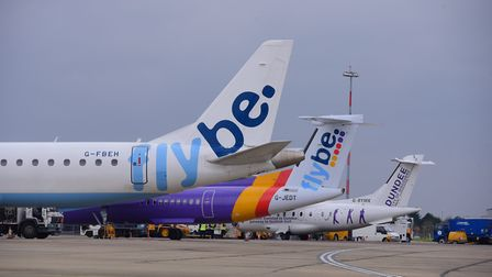 Norwich Airport operator Flybe is up for sale PHOTO BY SIMON FINLAY