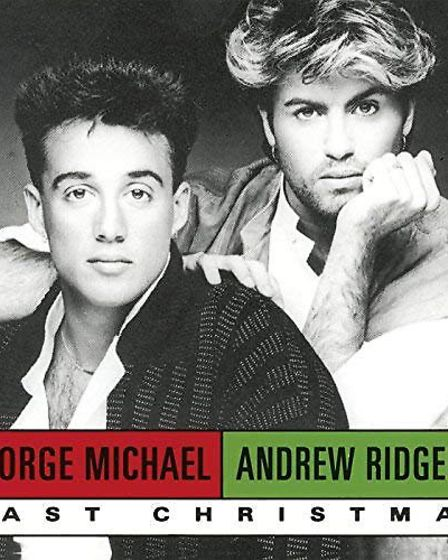 Last Christmas by Wham! Picture: COLUMBIA RECORDS/AMAZON