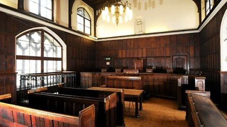 The former court in the Guildhall in Norwich Credit: Bill Smith
