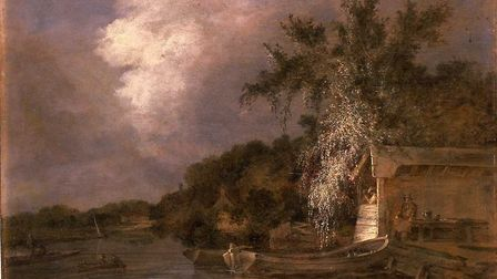 John Crome 1768-1821The Yare at Thorpe, Norwich c. 1806oil on panel