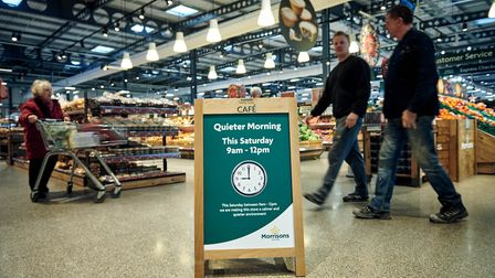 Morrisons is going to switch off its music and checkout beeps on the morning of the last shopping Sa