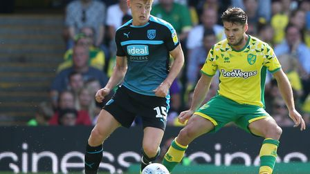Harvey Barnes scored as West Brom beat Norwich 4-3 at Carrow Road earlier this season Picture: Paul