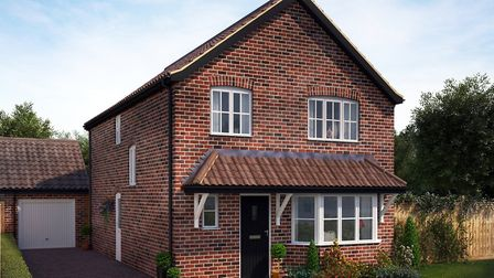 A house in Bennett Homes' Woodlands development. Picture: CONTRIBUTED