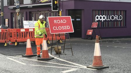 St Vedast Street, off Prince Of Wales Road has been closed. Pic: Victoria Pertusa