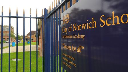 The City of Norwich School, an Ormiston Academy. Picture: DENISE BRADLEY
