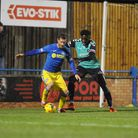 Adam Marriott is hoping to make a winning return to former club Royston Town Picture: Jamie Honeywoo