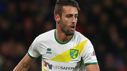 Ivo Pinto looks to have played his last game for Norwich City ahead of a proposed move to Turkey Pic