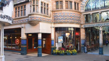 Jamie's Italian at the Royal Arcade which is closing. Picture: DENISE BRADLEY