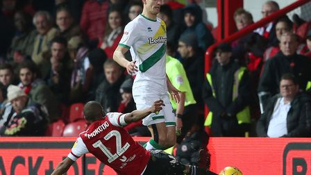 Timm Klose is one of the players likely to return to Norwich City's starting XI against West Brom Pi
