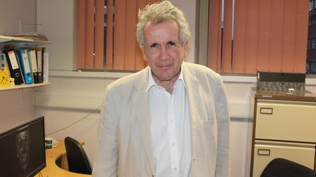 Former BBC war correspondent Martin Bell has had his face rebuilt by surgeons at St George's Hospita