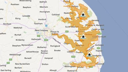 Flood warnings lifted across Norfolk and Suffolk Picture: Environment Agency