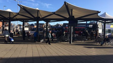 The public want to wait for their bus in peace. Photo: Emily Prince