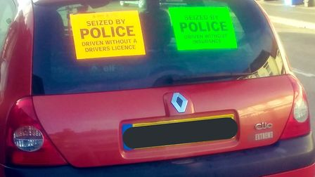 Three people have been arrested by police after a vehicle stop in Norwich. Picture: Norwich Police