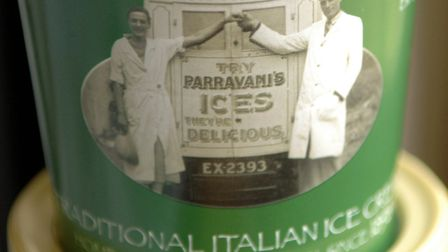 Feature on Parravani's ice cream makers from Chedgrave. The company has been going since 1898.Photo: