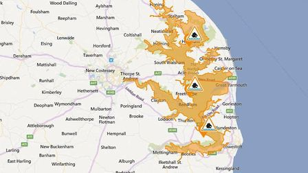 Three flood alerts remain in place for our region Picture: Environment Agency