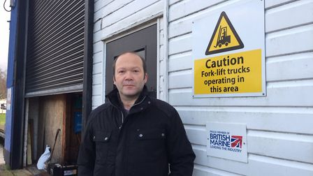 Andrew Peachment, director of Nanni on the Riverside Estate in Brundall said flooding was part and p