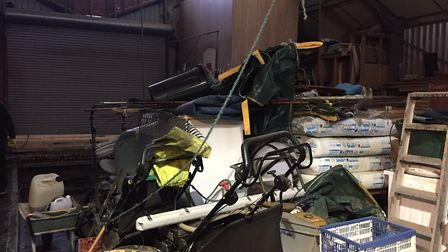 Owner of boat hire company Fencraft, David Hillburn said it has to raise expensive machinery off the