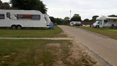 The Cromer caravan park they hid in Credit: Channel 4