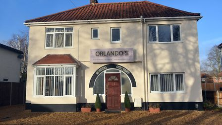 The property on Earlham Road, Norwich. PICTURE: Jamie Honeywood
